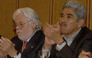 Carlos Gaviria Díaz y Héctor Valencia Henao
