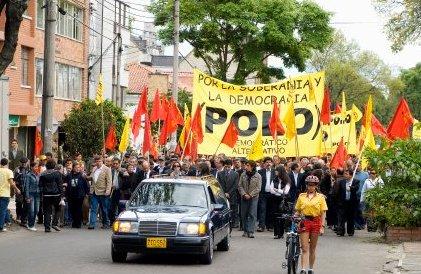 Cortejo fúnebre el 21 de septiembre. - Foto de Rafael Zárate