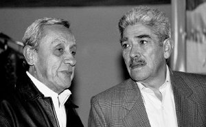Héctor Valencia y Gildardo Jiménez, que integró en 1965 el primer Comité Ejecutivo del MOEC.